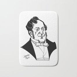 Gioachino Rossini Bath Mat