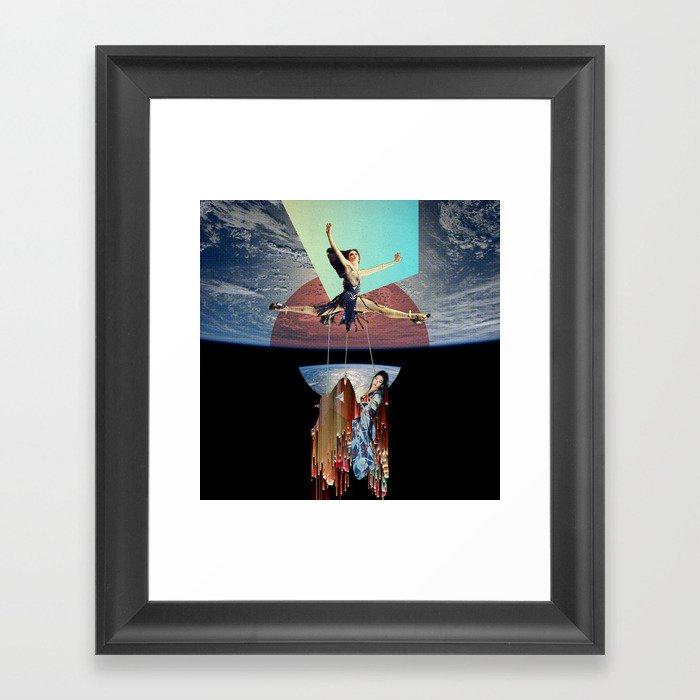 ArakiGlitch Framed Art Print