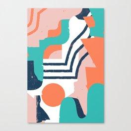 Smotth Senses Canvas Print