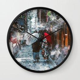 Kyoto Japan Wall Clock