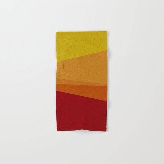 Stripe X Orange Peel Hand & Bath Towel