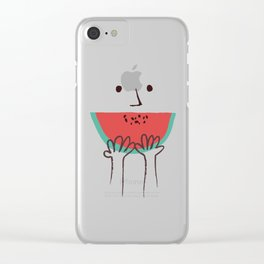 Summer smile Clear iPhone Case