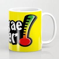reggae Mugs featuring Reggae Fever by Marvin Porcher