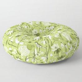 Finally Easter! [mono green] Floor Pillow