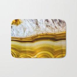 Amber Honey Agate Earth Bath Mat