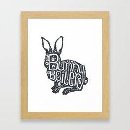 Bunny Boiler Framed Art Print
