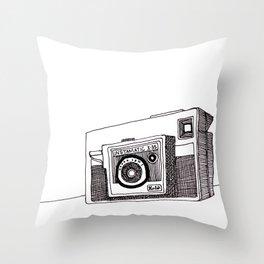 Instamatic X35 Throw Pillow