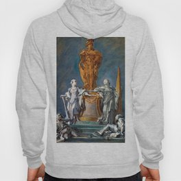 Francois Boucher Monument to a Princely Figure Hoody