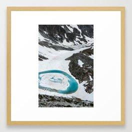 Lakes of Frémamorte Framed Art Print