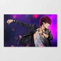 shinee Canvas Prints featuring SHINee - Taemin by Nikittysan