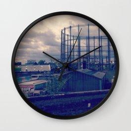London, Gasometer Wall Clock