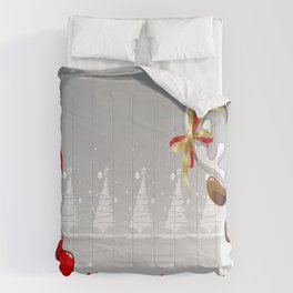 Santa & Reindeer Comforters