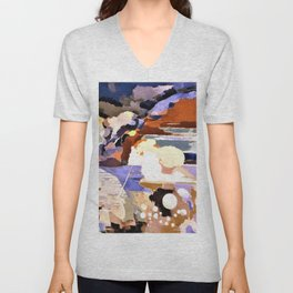 Paul Nash - Battle of Germany - Digital Remastered Edition Unisex V-Neck