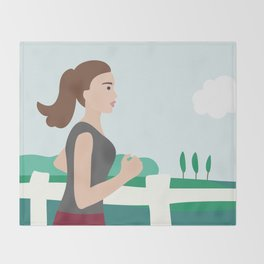 Fresh Air Runner Throw Blanket