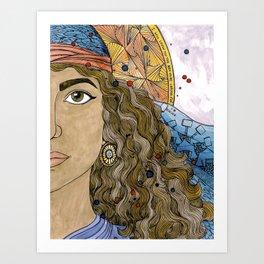 Jael Art Print