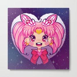 Sailor ChibiMoon Metal Print