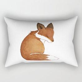 Resting Fox Rectangular Pillow