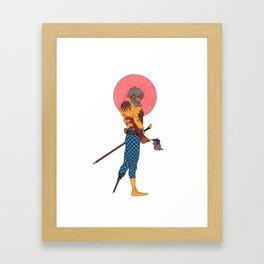 Wounded Nation Framed Art Print