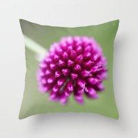 dragon ball Throw Pillows featuring Ball by John Murray/DarkStarImages