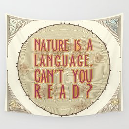 Nature is a Language: The Smiths Lyrics Wall Tapestry