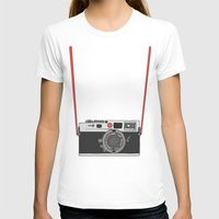 camera T-shirts featuring Camera by Illustrated by Jenny
