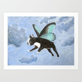 Dog Fairy Art Print