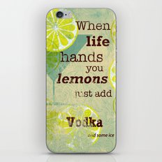 Add Vodka iPhone & iPod Skin