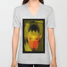 ANDROID. Unisex V-Neck
