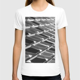 Architectural Metal Abstract Print T-shirt