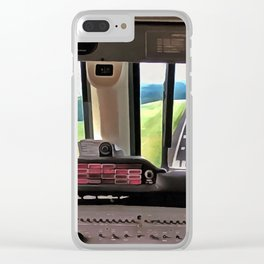 Landing Clear iPhone Case