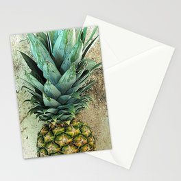 Pineapple Portrait Stationery Cards