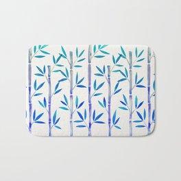 Bamboo Stems – Indigo Palette Bath Mat
