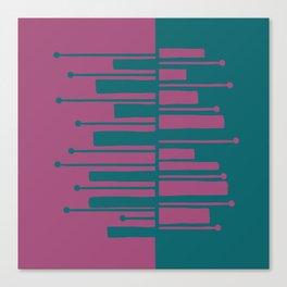 Pianisti Greenpu Canvas Print