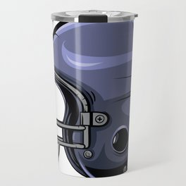 Gridiron Football Helmet Travel Mug