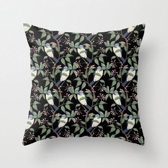 Bird Spotting Throw Pillow