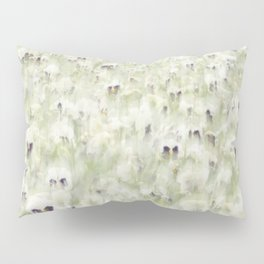Pansy Field Floral Pattern III Pillow Sham