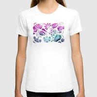 vintage floral T-shirts featuring Vintage Floral by Jacqueline Maldonado