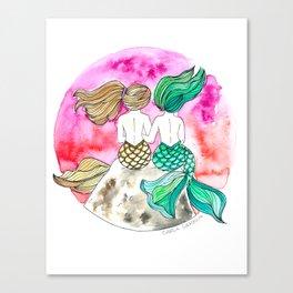 Tahid y Marina Canvas Print