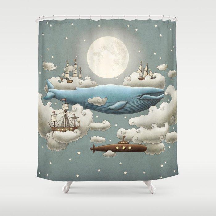 Ocean Meets Sky Duschvorhang