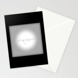 Know Thyself - Socrates Stationery Cards
