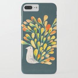 Watercolor Peacock iPhone Case