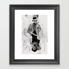 Gra Smierci Framed Art Print