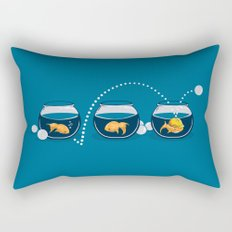 Prepared Fish Rectangular Pillow