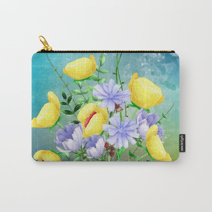 Flowers bouquet #21 Carry-All Pouch