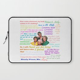 Golden Girl Quotes Laptop Sleeve