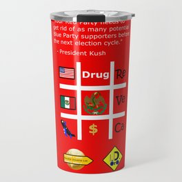 Red Party Travel Mug