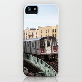 Incoming 2 Train iPhone Case