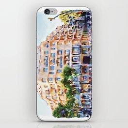 La Pedrera Barcelona iPhone Skin