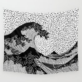 The great wave of Kanagawa. Hokusai Wall Tapestry