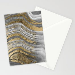 Abstract paint modern Stationery Cards